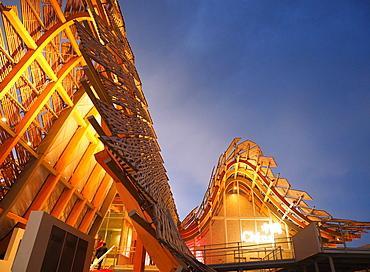 China Pavilion, EXPO 2015, Milan, Lombardy, Italy, Europe