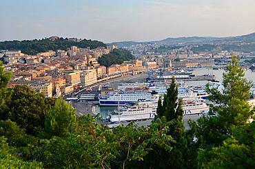 Cityscape, Ancona, Marche, Italy, Europe