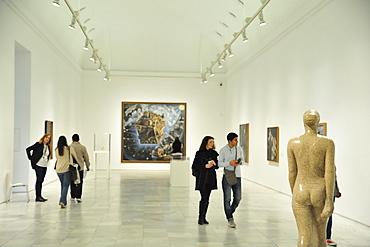 Museo Nacional Centro de Arte Reina Sofia, Queen Sofia Museum, Madrid, Spain, Europe