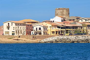 Isola Rossa, Red Islet, Trinità d'Agultu, Sardinia, Italy, Europe