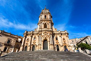 Chiesa di San Giorgio church, Sicilian Baroque, Modica, Sicily, Italy, Europe