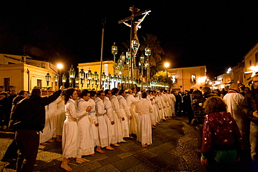 Good Friday, Easter procession, Assoro, Sicily, Italy, Europe