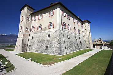 Thun castle, Non valley, Trentino, Italy, Europe