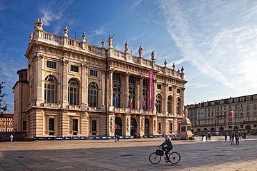 Palazzo Madama in Piazza castello, Turin, Italy, Europe