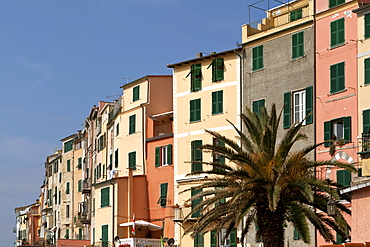 Foreshortening, Porto Venere, Golfo dei Poeti, Ligury, Italy, Europe