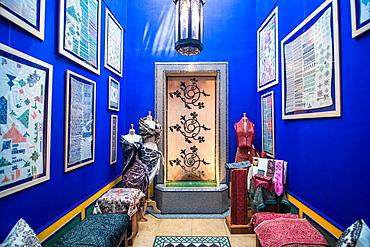 Craft, Majorelle gardens, Marrakech, Morocco, North Africa, Africa