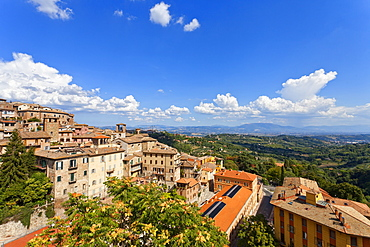 Cityscape, Perugia, Umbria, Italy, Europe