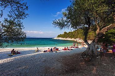Emblisi beach, Fiscardo, Kefalonia, Ionian Islands, Greece