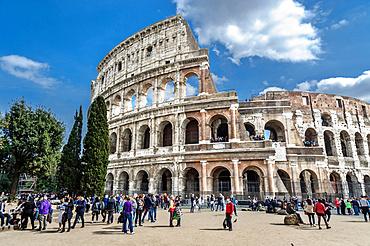 Colosseo, Colosseum, Rome, Lazio, Italy, Europe