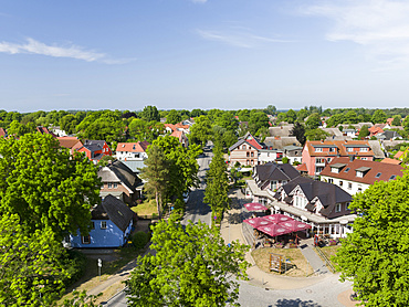 Wustrow on Fischland Peninsula. Europe, Germany, West-Pomerania, June