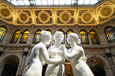 Canova, Thorvaldsen. The birth of modern sculpture, Gallerie d'Italia is the exhibition spaces created by Intesa Sanpaolo Banca and the Fondazione Cariplo, Piazza alla Scala square, Milan, Lombardy, Italy, Europe