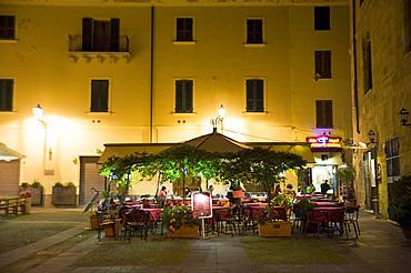 Restaurant Pizzeria Bella Napoli, Piazza Civica, Alghero, Sardinia, Italy, Europe