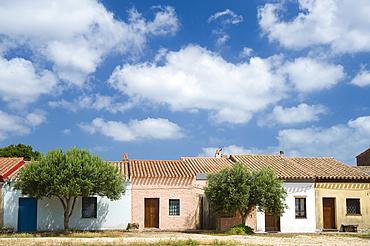 San Salvatore Village, Cabras, Sardinia, Italy, Europe