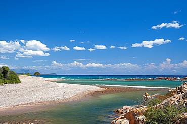 Lispedda o Su Mari Dividiu, Marina di Cardedu, Sardinia, Italy, Europe