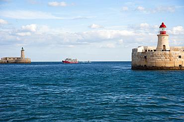 La Valletta, Capital of Culture 2018, Grand Harbor, Malta Island, Mediterranean Sea, Europe