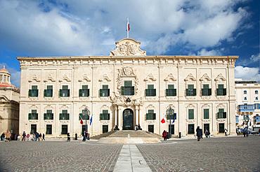 La Valletta, Capital of Culture 2018, Governament Palace, Malta Island, Mediterranean Sea, Europe