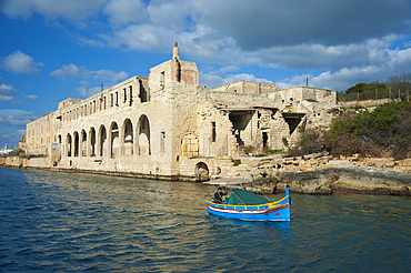 Lazzaretto, Manoel Island, Malta Island, Mediterranean Sea, Europe