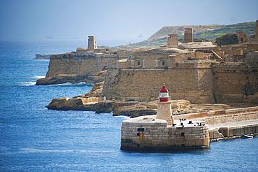 Fort Ricasoli, Calcara (Il-Kalkara), Malta Island, Mediterranean Sea, Europe