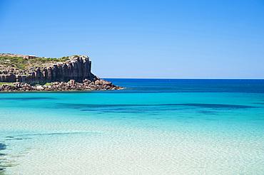 La Caletta e Capo Spalmatore, Carloforte, Island of San Pietro, Sardinia, Italy, Europe