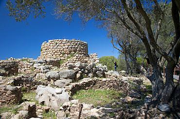 Nuraghe La Prisgiona, Arzachena, Sardinia, Italy, Europe
