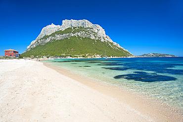 Spalmatore Beach, Isola di Tavolara, Loiri Porto San Paolo, Sardinia, Italy, Europe