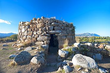 "Nuraghe ""S'Ortali e Su Monti"" o ""San Salvatore"", Archaeological site, Tortolì, Nuoro, Sardinia, Italy, Europe"