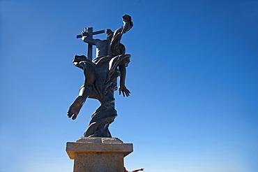 Il Redentore statue, Nuoro, Sardinia, Italy, Europe
