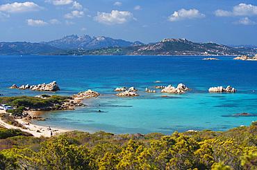 Porto Palma beach, Caprera, La Maddalena, Sardinia, Italy, Europe