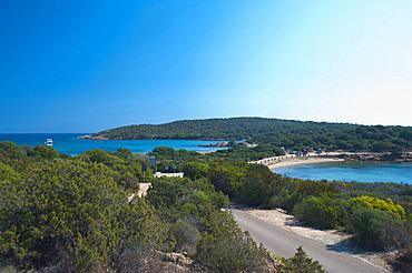 Spiaggia dei Due Mari, Caprera, La Maddalena, Sardinia, Italy, Europe