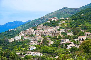 Oletta village, Corsica, France, Europe