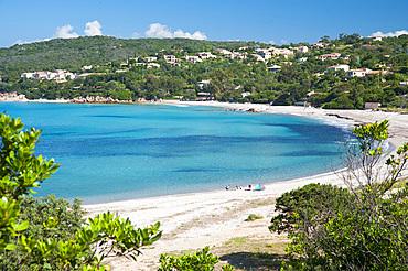 Plage de Mare e Sole beach, Pietrosella, Corsica, France, Europe