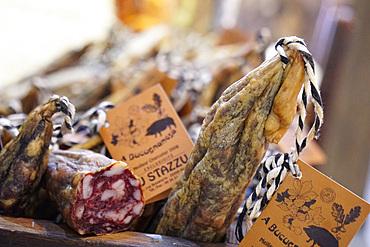 U Stazzu, traditional delicatessen shop, 1 Rue Bonaparte, U Bucugnesa, Ajaccio, Corsica, France, Europe