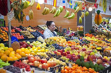 Mercado do Bolhão, Bolhão food market, Porto, Portugal