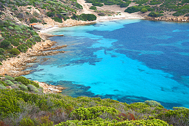 Cala Sabina, Asinara Island National Park, Porto Torres, North Sardinia, Italy, Europe