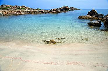 Cala dei Ponzesi, Asinara Island National Park, Porto Torres, North Sardinia, Italy, Europe