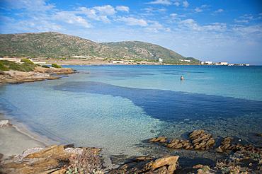 Spiaggia Dell'Ossario, Cala Reale, Asinara Island National Park, Porto Torres, North Sardinia, Italy, Europe