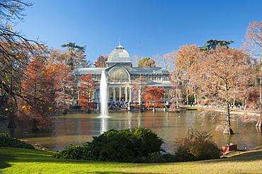 Palacio de Cristal, Parco del Buen Retiro, Madrid, Spain, Europe