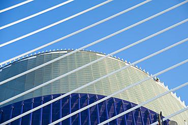 Agora, Assut de l'Or Bridge, Ciutat de les Arts i les Ciències, Valencia, Spain, EuropeValencia;