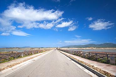 Is Solinas Beach, Masainas, Sardinia, Italy, Europe