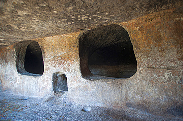 Necropolis Montessu, Villaperuccio, Sardinia, Italy, Europe