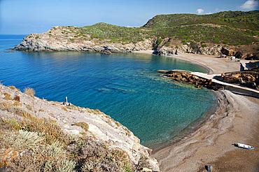 Cala dell'Argentiera, Argentiera Cove, Sassari, Sardinia, Italy, Europe