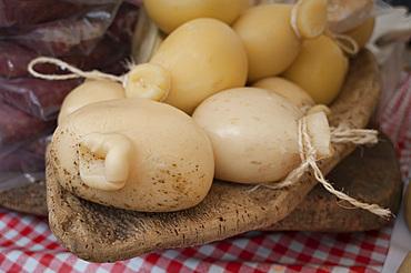 Casizolu, traditional Sardinian Cheese, Sardinia, Italy, Europe