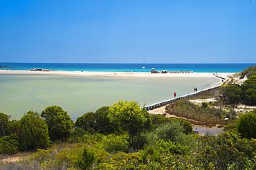 Lagoon, Su Giudeu, Cape Spartivento, Chia, Domus de Maria, Sardinia, Italy, Europe
