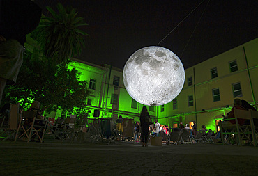 Luke Jerraman author of Museum of the Moon, Sa Manifattura, Cagliari, Sardinia, Italy, Europe