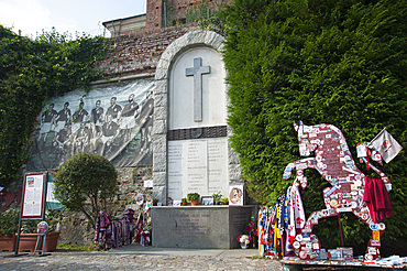 Accident of Turin soccer team 1949, Basilica di Superga, Turin, Piedmont, Italy, Europe
