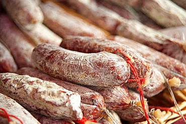 Truffle Salami, Alba, Cuneo, Piedmont, Italy, Europe