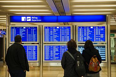 Frankfurt Airport, Flughafen Frankfurt am Main, Frankfurt am Mein, Frankfurter skyline, Hesse, Germany, Europe