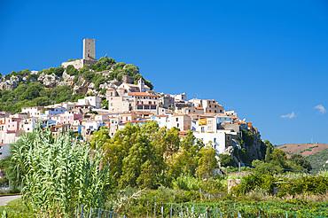 Posada village, Sardinia, Italy, Europe