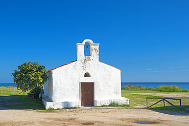 Church of San Giovanni Battista, La Caletta, Siniscola, Sardinia, Italy, Europe