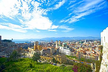 Cityscape, Cagliari, Sardinia, Italy, Europe